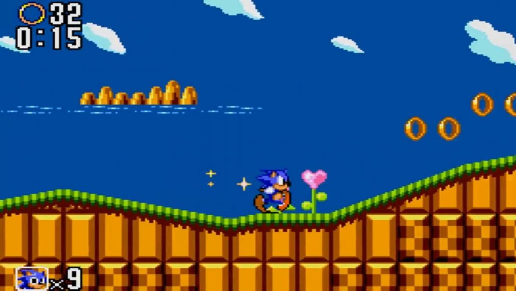 Sonic The Hedgehog: green hill