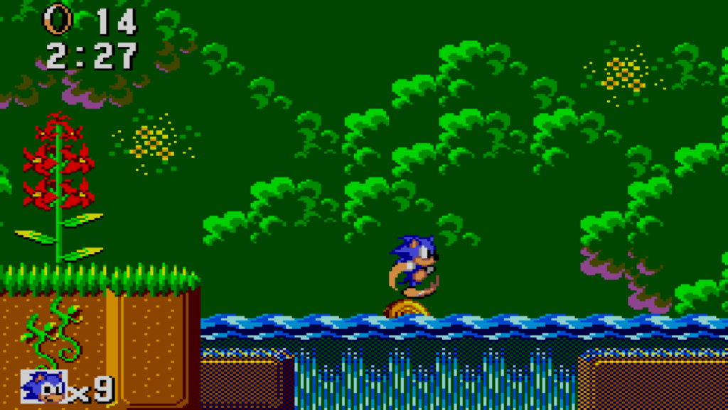 Sonic The Hedgehog: jungle