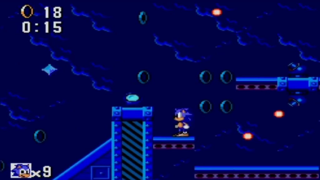 Sonic The Hedgehog: sky base
