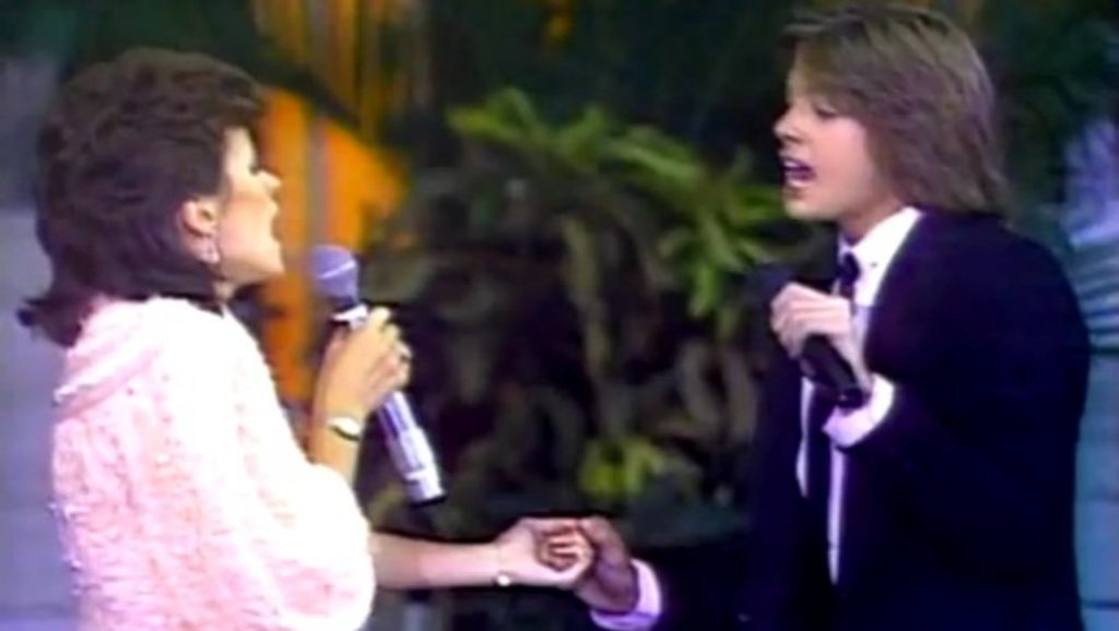 Sheena Easton y Luis Miguel