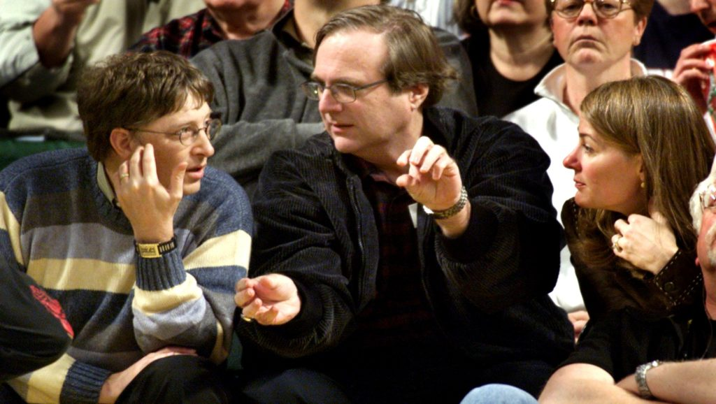 Bill Gates y Paul Allen