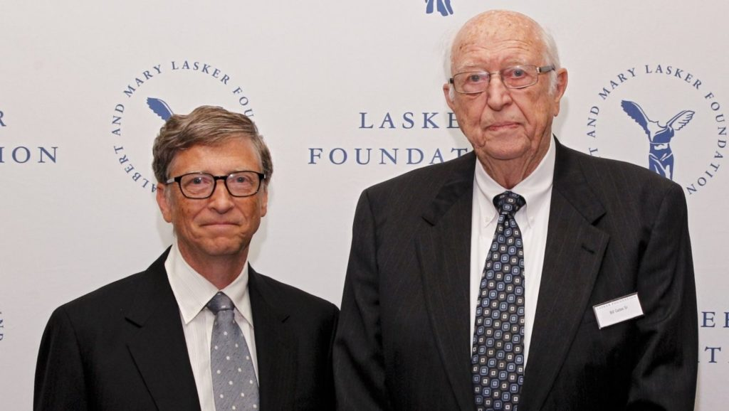 Bill Gates y su padre