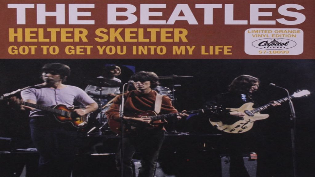 "Single ""Helter Skelter"" de The Beatles"