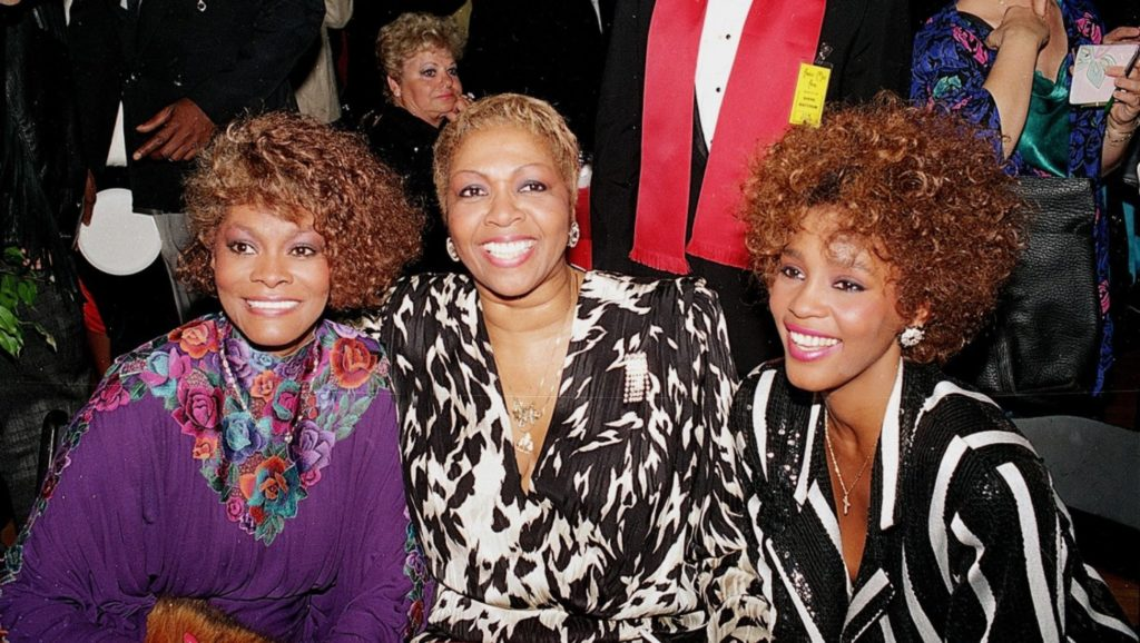 Dionne Warwick, Cissy Houston y Whitney Houston