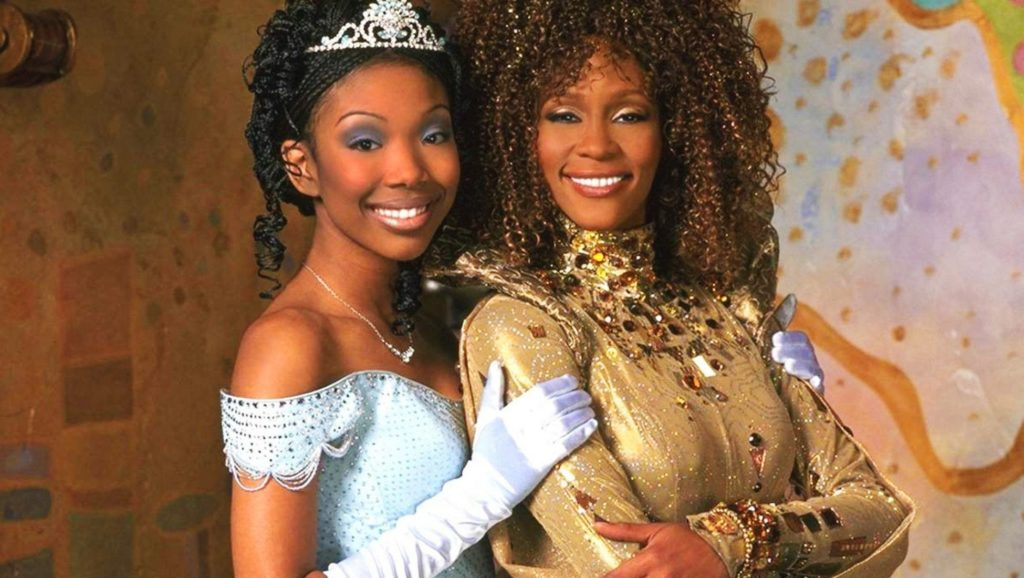 "Whitney Houston en ""Cinderella"""
