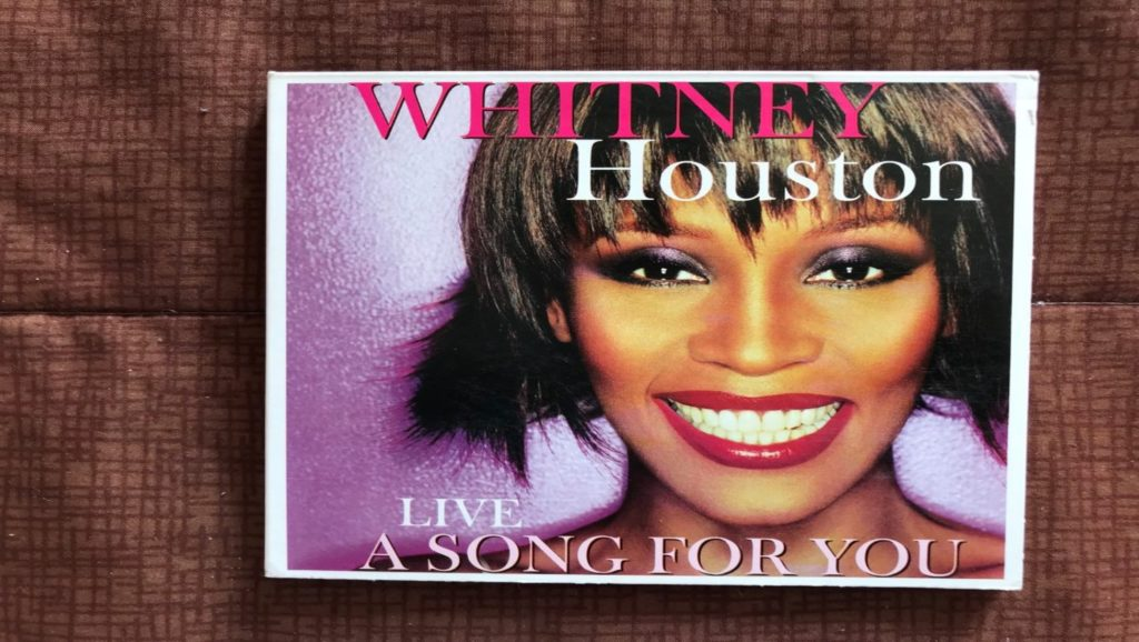 "Álbum en directo ""A song for you"" de Whitney Houston"