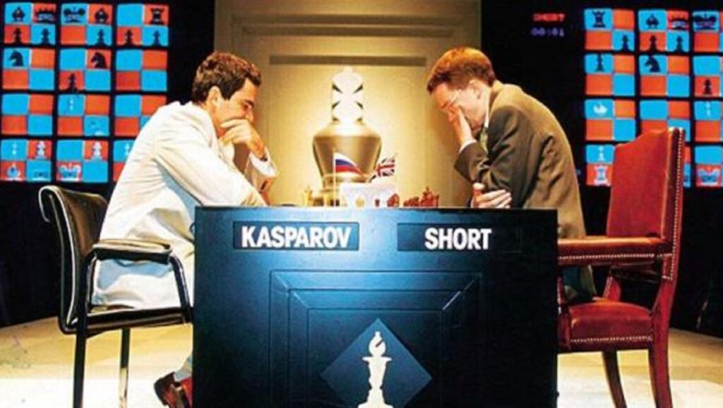 Garry Kasparov contra Nivel Short