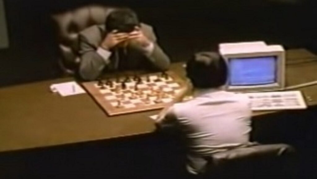 Garry Kasparov contra Deep Thought eb 1989