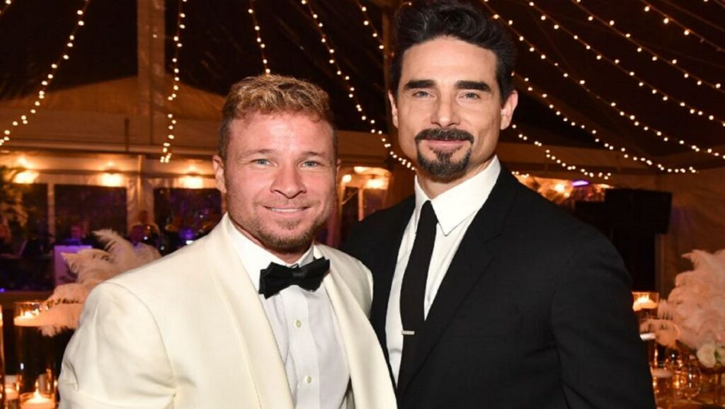 Brian Littrell y Kevin Richardson