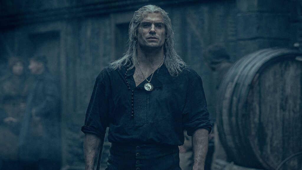 "Henry Cavil en la serie ""The Witcher"""