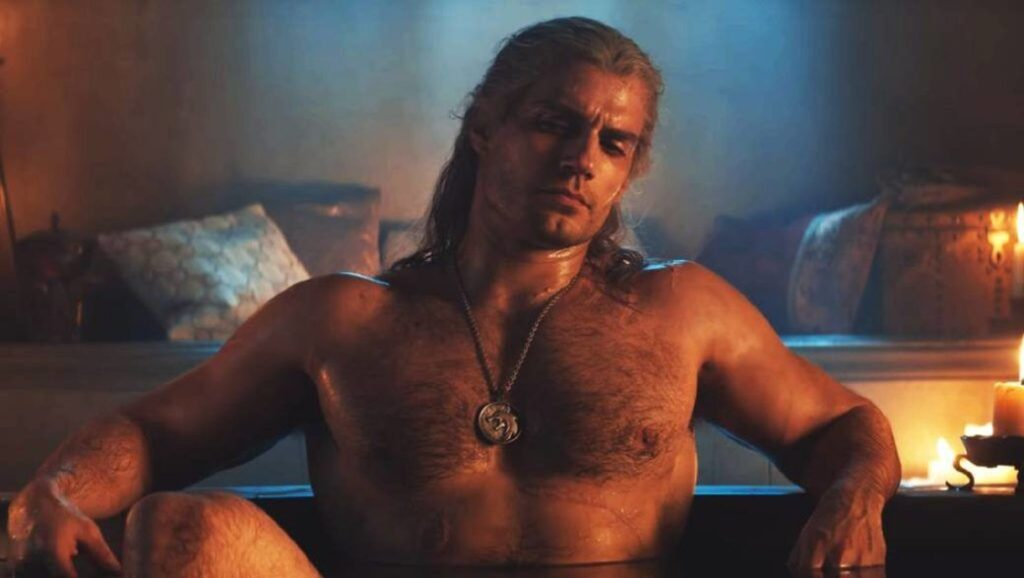 "Henry Cavill en escena de la serie ""The Witcher"""
