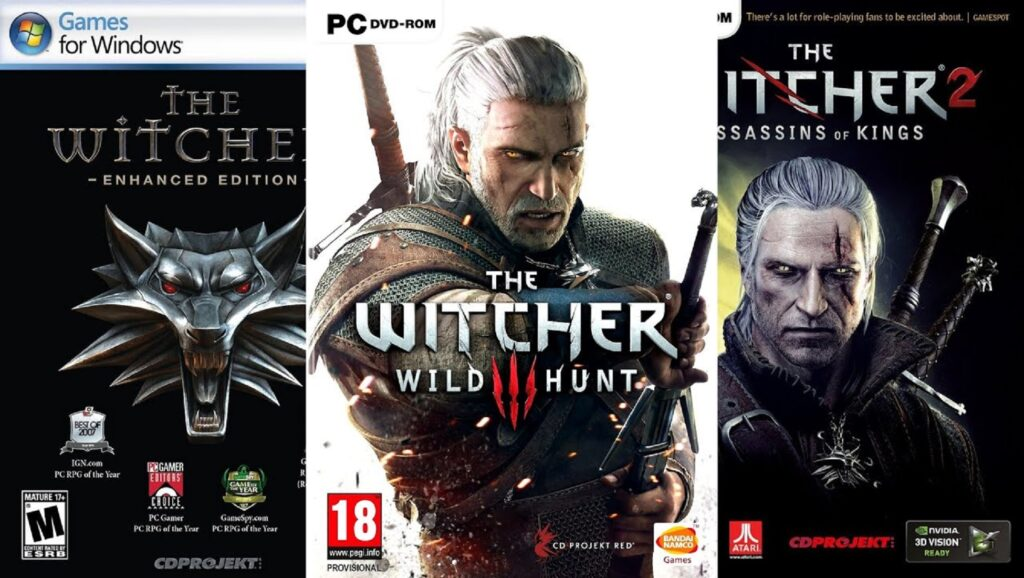 "Videojuego de ""The Witcher"""