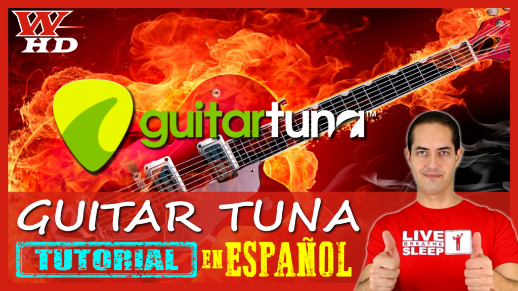 Tutorial de GuitarTuna en Español
