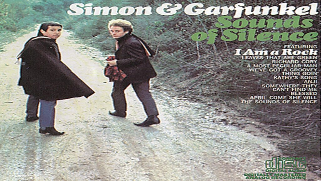 "Portada del álbum ""Sounds of Silence"" de ""Simon & Garfunkel"""
