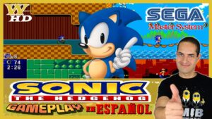 GAMEPLAY del SONIC THE HEDGEHOG de la SEGA MASTER SYSTEM
